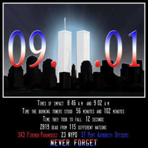 9-11 Tribute, Twin Towers